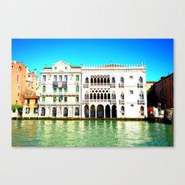 Ca' D'Oro Palace - Venice, Italy Canvas Print