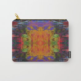 Cathedral Gorge Pattern Carry-All Pouch