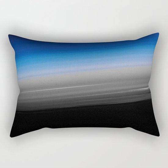 Blue Steel Rectangular Pillow