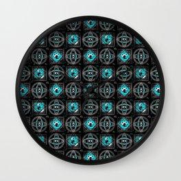 Eyes in Black 2 - By Matilda Lorentsson Wall Clock