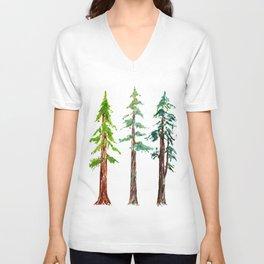Tall Trees Please Unisex V-Neck