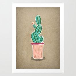 Cactus 1. Cactus illustration Art Print