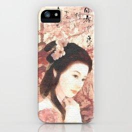 Asian Rose iPhone Case
