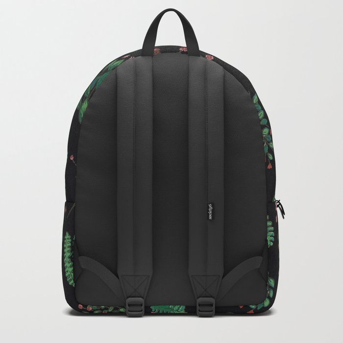 black and green garden Backpack