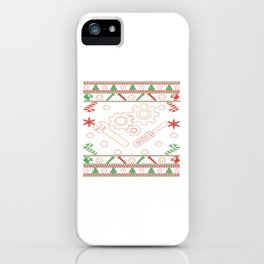 Mechanic - Merry Christmas iPhone Case