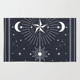 L'Etoile or The Star Tarot Rug