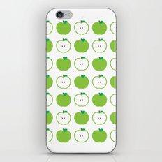 Green Apple iPhone & iPod Skin