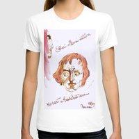 mozart T-shirts featuring Mozart & Salieri by MENAGU'