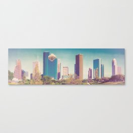 Downtown Houston Panorama Canvas Print