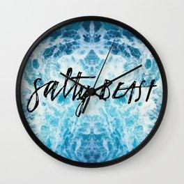 Salty Beast Ocean Wall Clock