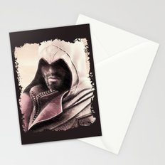 Ezio Auditore from Assassin's Creed - Color Sketch Work Stationery Cards