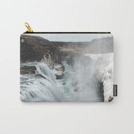Gullfoss - Landscape Photography Carry-All Pouch