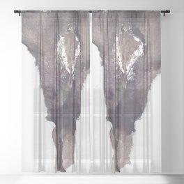 Verronica Kirei's Sultry Vagina Sheer Curtain