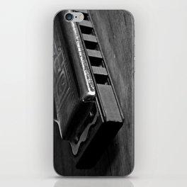 Black, White, & the Blues iPhone Skin