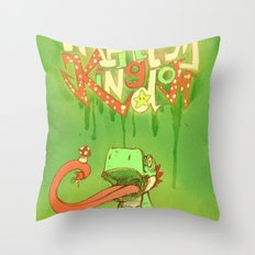 Yo Yoshi! Throw Pillow
