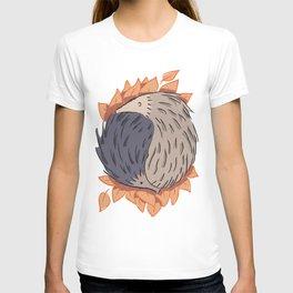Hedgehog Yin Yang T-shirt