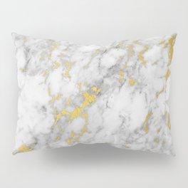 Gold Flecked Marble Pillow Sham