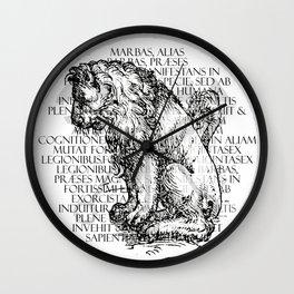 Hierarchia Inferni - Marbas Wall Clock