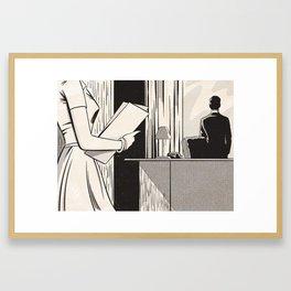 NOIR no.03 (SIR?) Framed Art Print