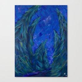 Curious Conifers Canvas Print