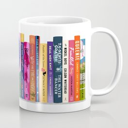 Black Authored Books Coffee Mug