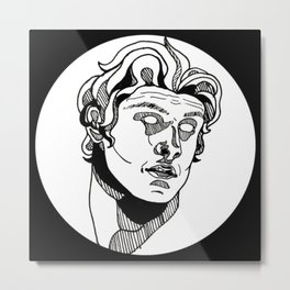 Apollo (Mathew Barzal) Metal Print