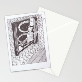 Mankind needs catsuits. Stationery Cards