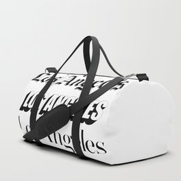 LOS ANGELES Duffle Bag