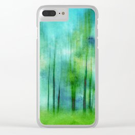 Sense of Summer Clear iPhone Case