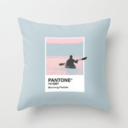 Pantone Series – Paddle Throw Pillow