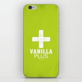 Vanilla + iPhone Skin