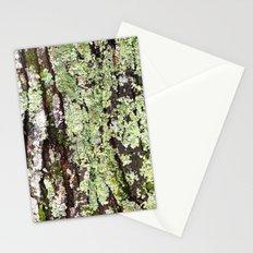 Tree Bark Lichen Stationery Cards