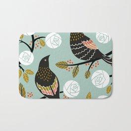 Winterbirds Bath Mat