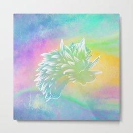 Rainbow Sea Slug Metal Print