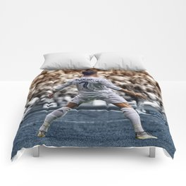 cr7 clebration Comforters