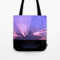 Serenity Prayer - III Tote Bag