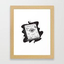 The Book of Spells Framed Art Print