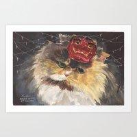 Cat Circus Art Print