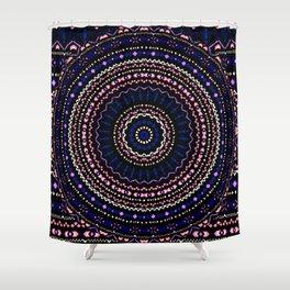 Mandala Geo Shower Curtain