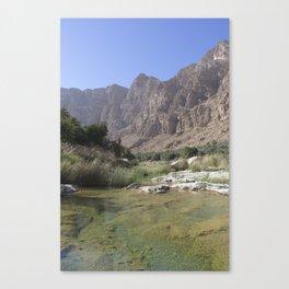 Wadi Tiwi, Oman Canvas Print