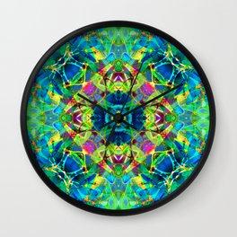 kaleidoscope Crystal Abstract G116 Wall Clock