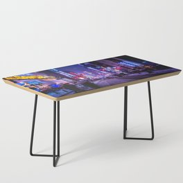 Shibuyascapes Snowy Night Coffee Table