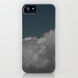 Cloudy blue iPhone Case