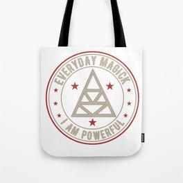 I Am Powerful activated magickal sigil tshirt gift Tote Bag