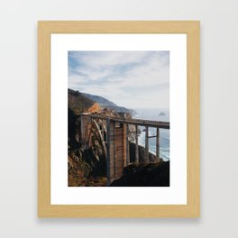 The Bixby Bridge Framed Art Print