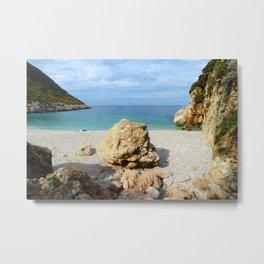 SICILIAN SEA SOUND Metal Print