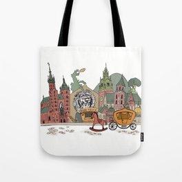 Old Europe. Krakow Tote Bag