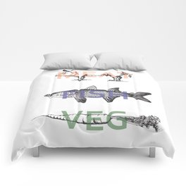 Food Groups Comforters