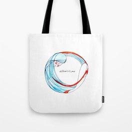AbbraccioMi // Hugging Myself Tote Bag