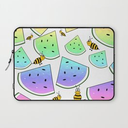 Uninvited Picnic Guests Laptop Sleeve